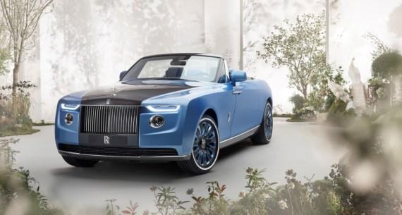 Rolls Royce Boat Tail profilo anteriore