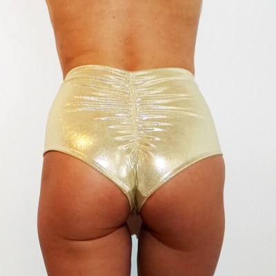 KATY SHORT_GOLD_POLEWEAR & ACTIVEWEAR_STYLOSCOPE_BACK