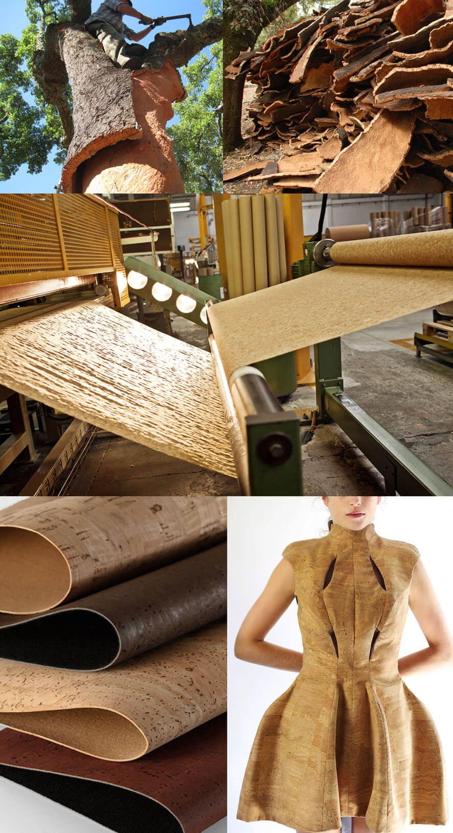 O tecid de cortiça é um dos materiais mais sustentáveis para moda e decoração stylo urbano-1