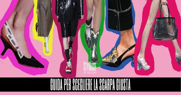 Tendenza scarpe: Mini guida per scegliere le scarpe giuste per te