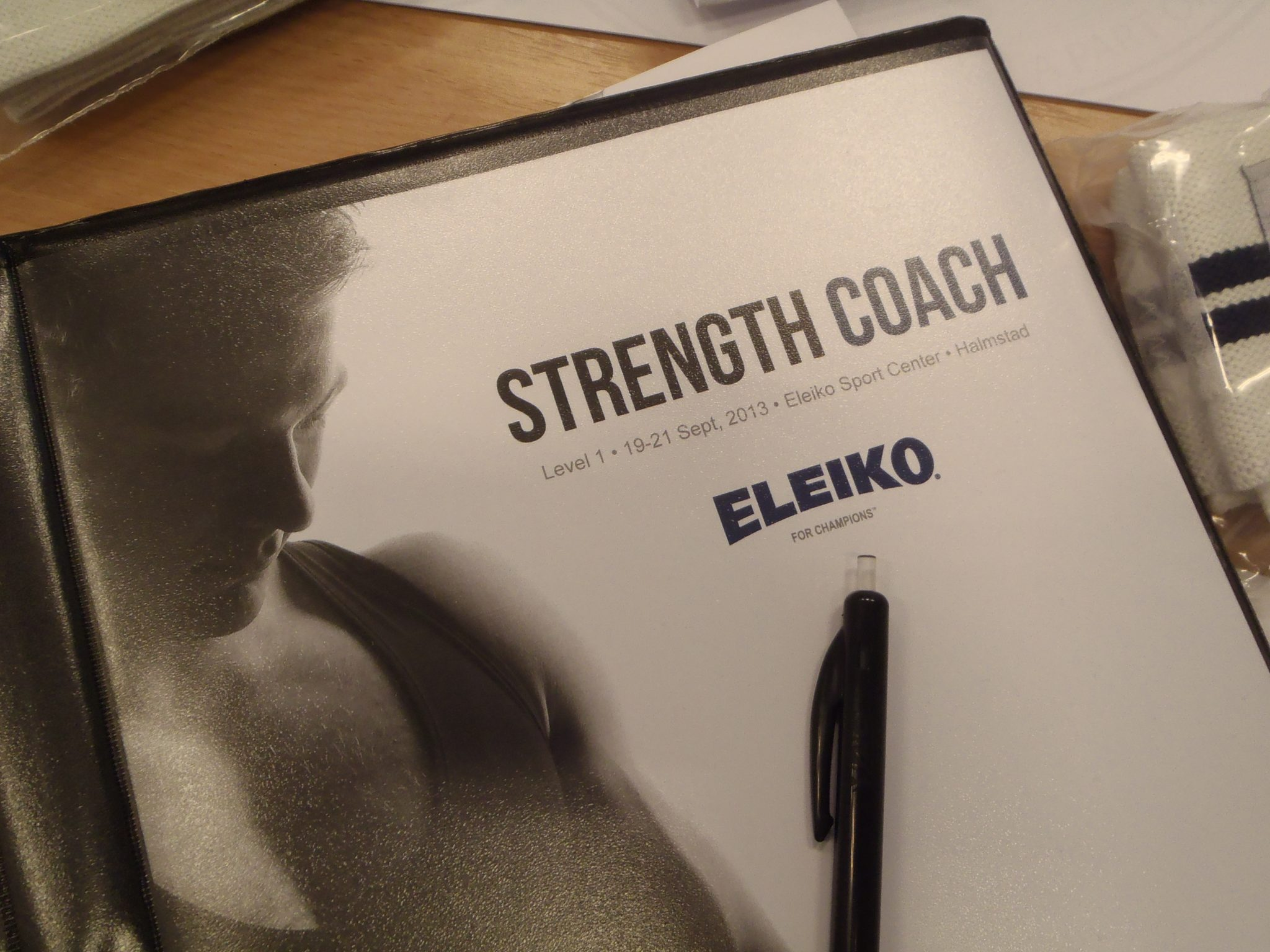 Eleiko Strength Coach steg 1