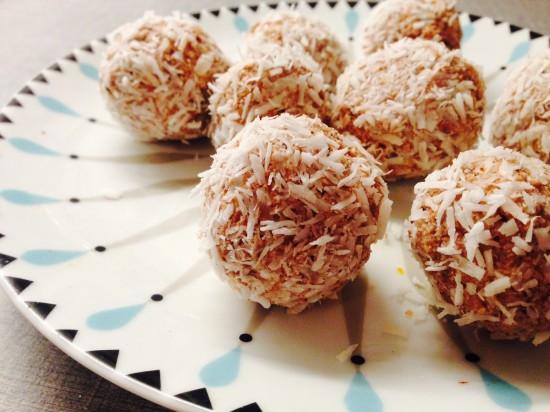 Proteinrika pepparkakschokladbollar