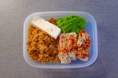 Torsk och quinoa: Recept meal prep