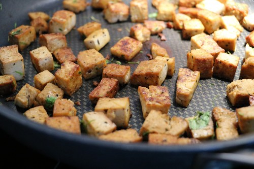hur gör man tofu
