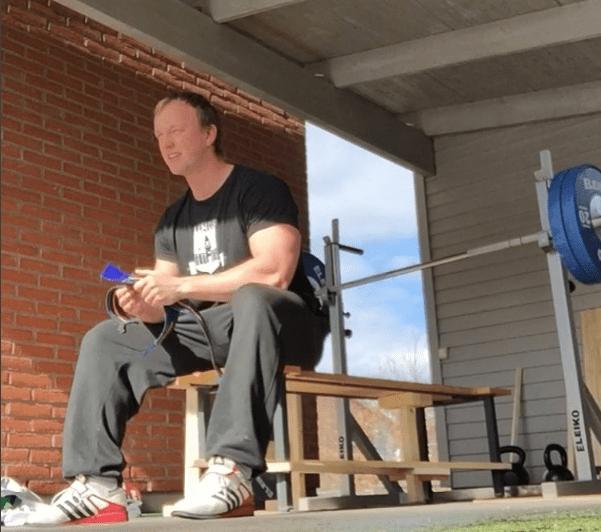 Daniel Richter bänkpress träning hälsa