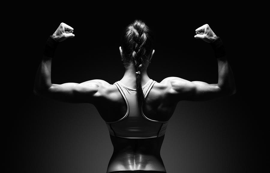 Mycket protein gav mer muskler för tränade kvinnor