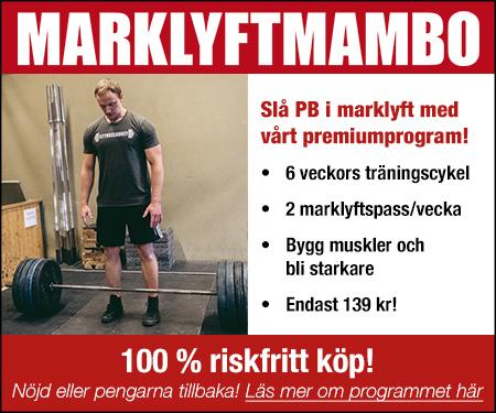 Marklyft Mambo - Slå nytt PB i marklyft!