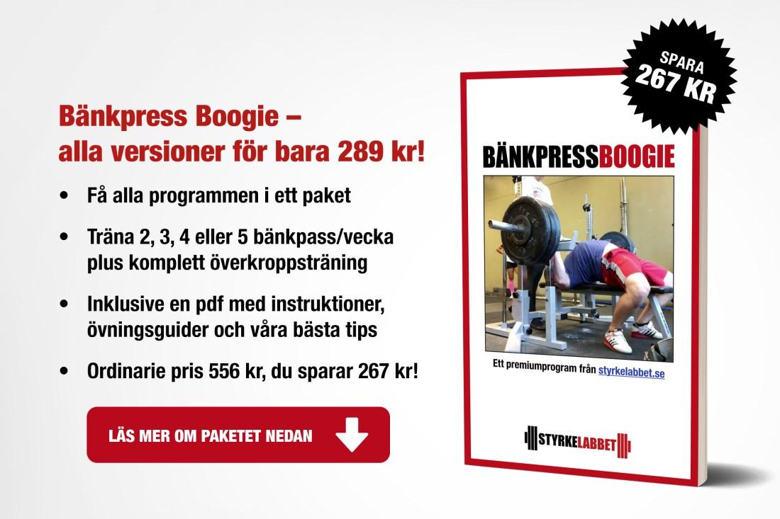 Bänkpress Boogie paket
