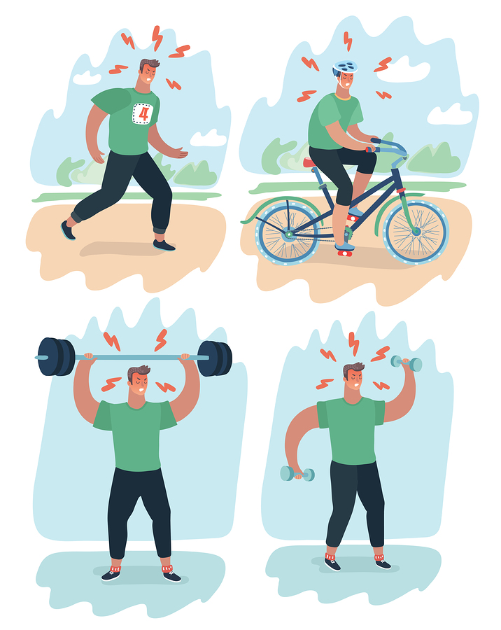 negativa effekter av styrketräning