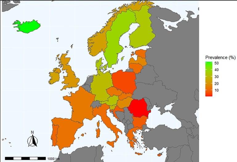 styrketräning i europa