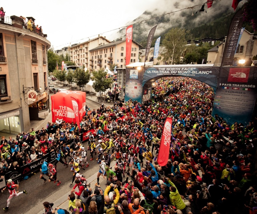 Largada Ultra Trail du Mont Blanc - blog.teamalchemist.com