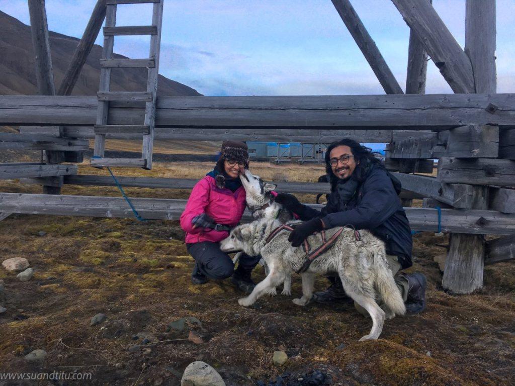 Abandones mining site in Svalbard
