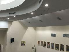 plafon ruang rapat paripurna yang bocor. Ist/Suara Bekasi Online