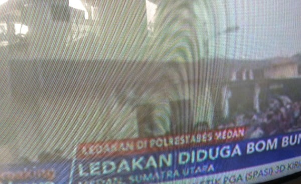 Polrestabes Medan Diledakan Diduga Teroris