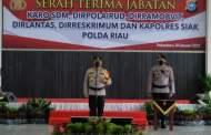Awal Tahun Baru Kapolda Riau Lantik Beberapa Jabatan Pejabat Utama Polda Riau