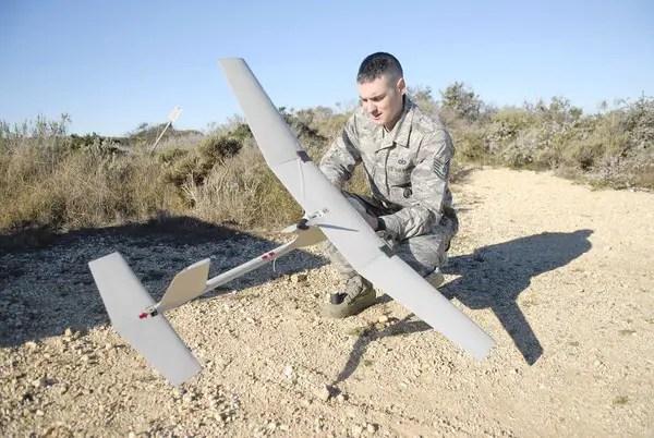 Raven drones at Vandenberg Air Force Base