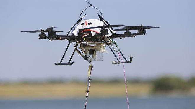 Water Testing Drone