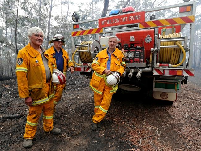 Blue Mountains fires