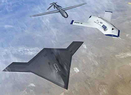 Air Force surveys industry for companies able to design UAV