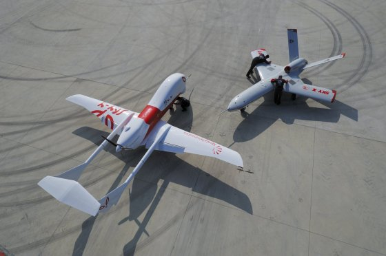 Alenia Aeronautica two UAV, Sky-X and Sky-Y