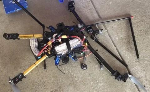 crasheddrone