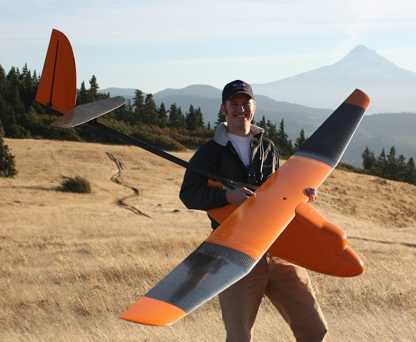 Rob Coatney With Gooney Bird UAV