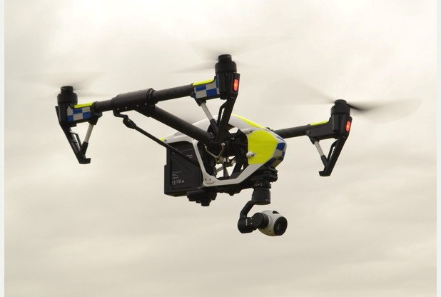 The drones that are being trialled by Dorset Police. See SWNS story SWDRONE; Police in Devon, Cornwall and Dorset are to embark on a six-month trial of unmanned aerial systems (UAS), more commonly known as drones, to aid officers in a number of policing matters including missing people searches and crime scene photography. Dorset Police is currently undertaking final preparations and is due to begin trialling two drones à a Phantom 2 plus + and a DJI Inspire à from Thursday 26 November 2015. From today, Monday 2 November 2015, police in Devon and Cornwall will begin their trial and will be able to call upon the services of two DJI Inspire 1 Drones. The drones are equipped with high definition (HD) cameras which can capture both video and still images.