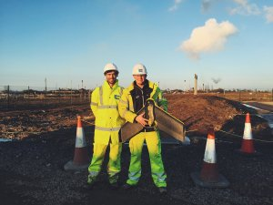Drones digitally surveying UK highways