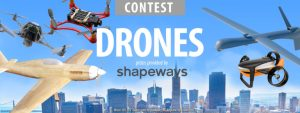 shapeways drone contest