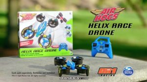 Spin Master and DR1 Racing announce Air Hogs partnership. New Air Hogs products, DR1 Micro Series sponsorship encourage young pilots to race like the pros. (PRNewsFoto/Spin Master Corp.)