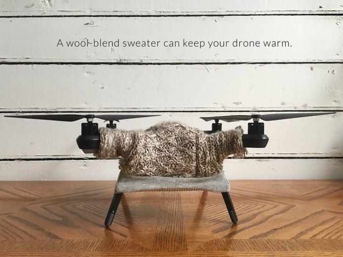 drone sweater