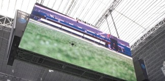 stadium drones
