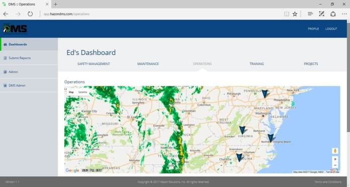 Cloud Based Drone Management Software Announced by HAZON