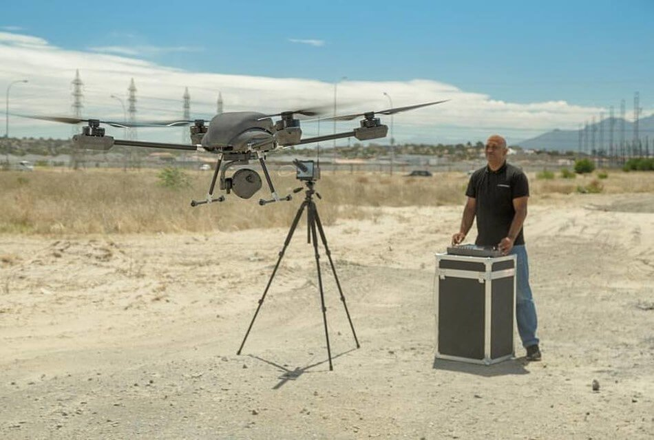 Airborne Drones on Patrol - the Answer to Public Safety Policing - sUAS News - The Business of Drones