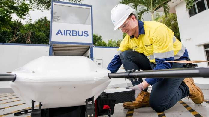 Wilhelmsen's - Pilot launch in Singapore: Autonomous drone delivery