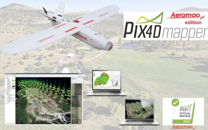 Pix4DMapper + Aeromapper Talon fixed wing BVLOS system for less than