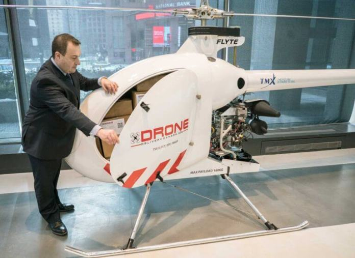 Drone Delivery Canada Unveils Its Largest and Farthest Range Cargo