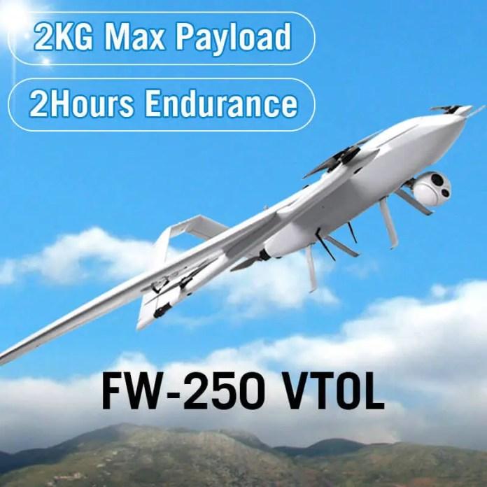 YANGDA FW-250 VTOL - sUAS News - The Business of Drones