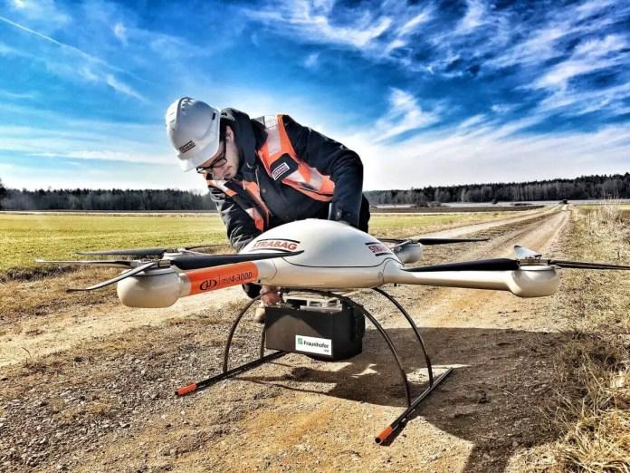 microdrones construction