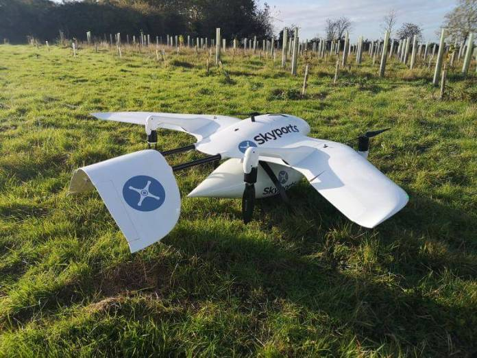 Drone deliveries and seamless end-to-end journey routing might join the UK's rural cities and communities - sUAS Information 1