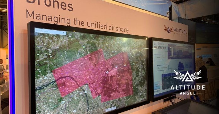 Altitude Angel Exhibit at World ATM Congress 2020 - sUAS Information 1
