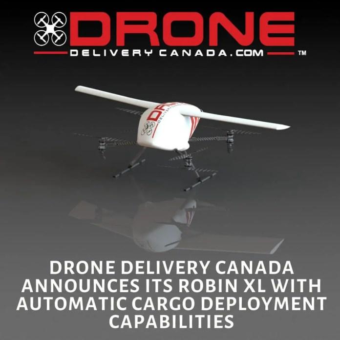 Drone Supply Canada unveils Robin XL - sUAS Information 5