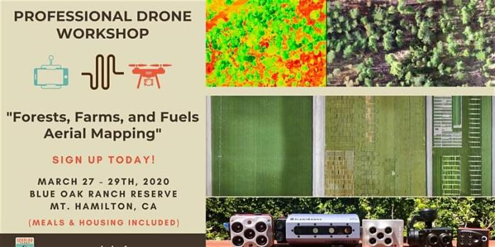 Drone Instruments Workshop: Forests, Farms, and Fuels Aerial Mapping - sUAS Information 1