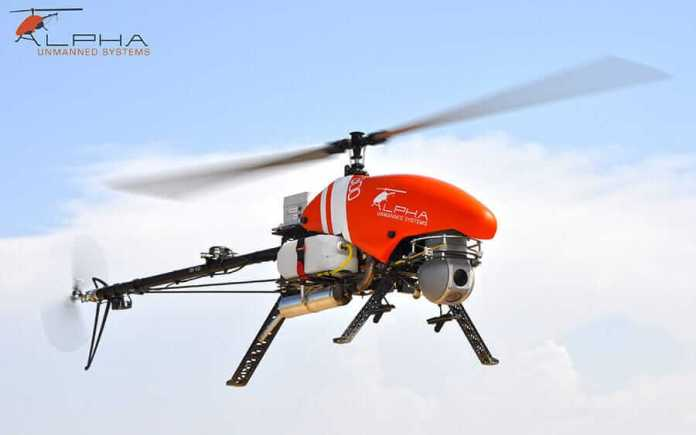 Alpha Unmanned Programs' Totally-Autonomous Helicopters now Flying Multi-UAV Missions - sUAS Information 2