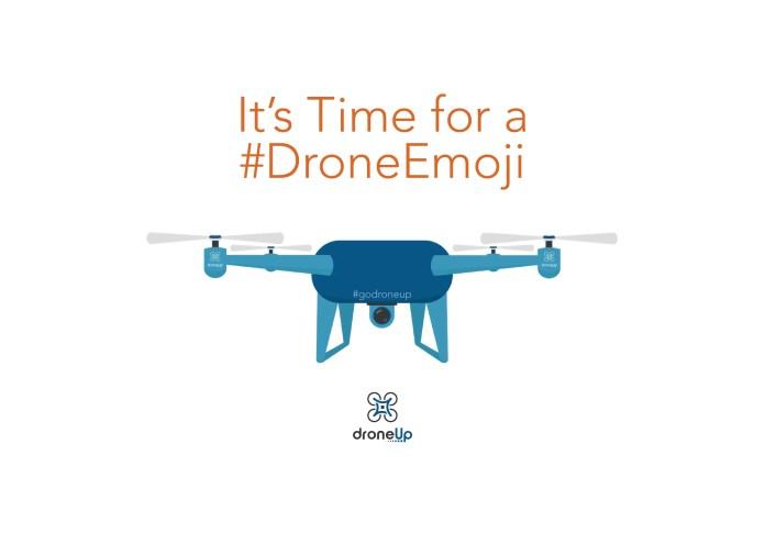 Drone Emoji Post Watermark