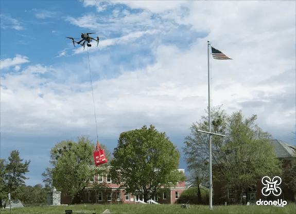 DroneUp Flight Test Watermark