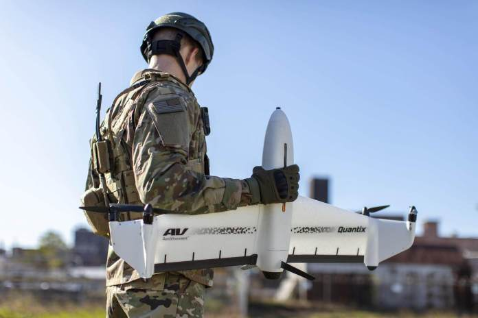 AeroVironment Unveils Quantix Recon, Totally-Automated Hybrid Vertical Takeoff and Touchdown UAS for Protection Purposes - sUAS Information 1