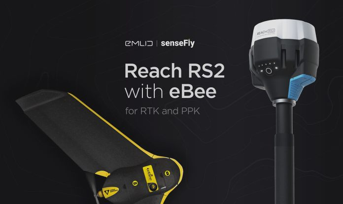 Attain RS2 as a Base Station for RTK and PPK with senseFly's eBee Drone Platform - sUAS Information 4