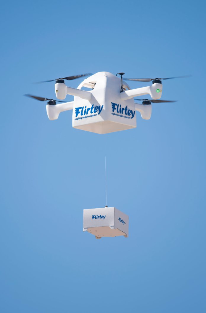 Flirtey's New Granted Patent is Instrumental for Drone Supply - sUAS Information 1