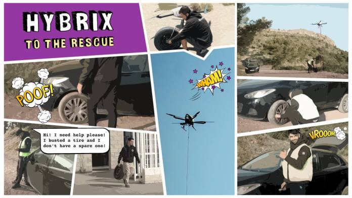 HYBRiX to the rescue - sUAS Information 1